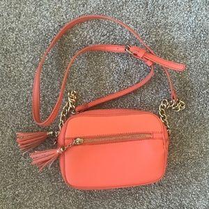 Handbags - Coral Peach Mini Purse